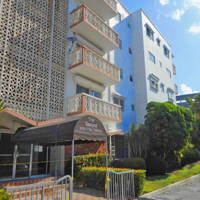 Summit condominium complex