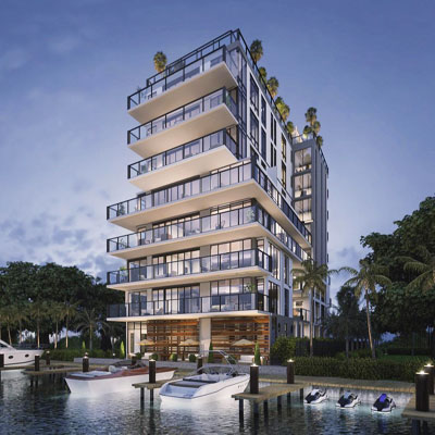 the waters harbor condominium complex