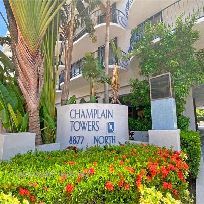 champlain towers north condominium complex