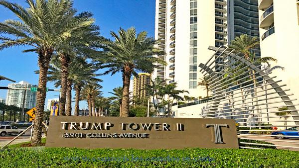 Trump Tower II oceanfront condos