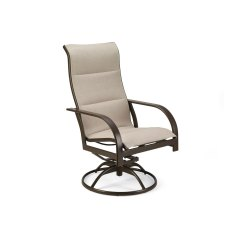 Re Sling Patio Chairs White Linen Dining Room Chair Covers Winston Key West Padded Swivel Outdoor