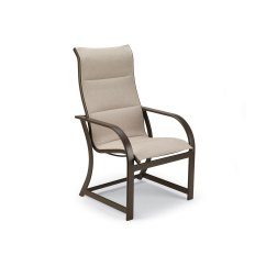 Re Sling Patio Chairs Walmart Wicker Winston Key West Padded Dining Chair Outdoor