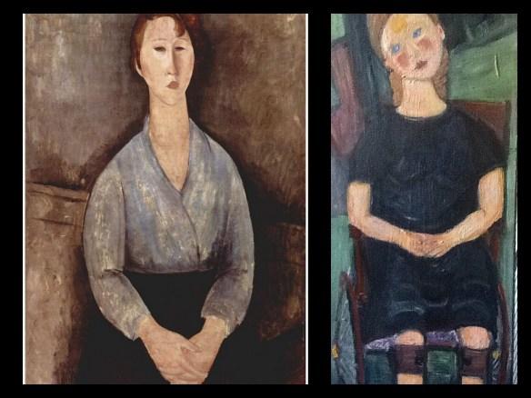 Modigliani collage 2