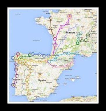 map camino