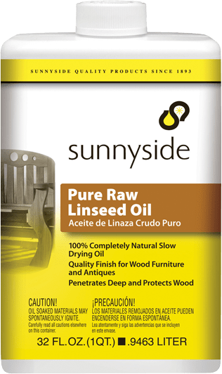 Raw Linseed Oil Finish