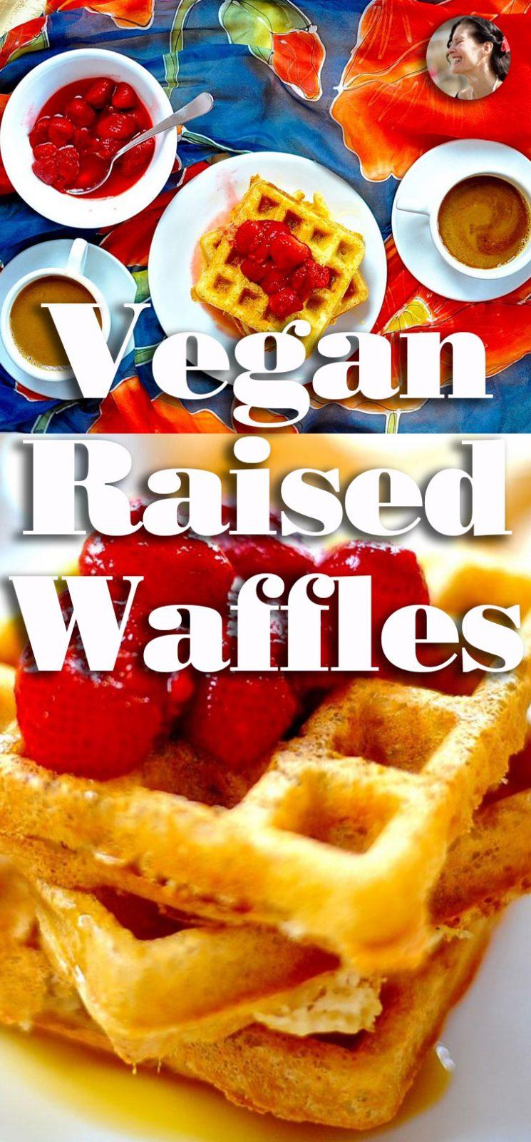 Vegan Raised Waffles