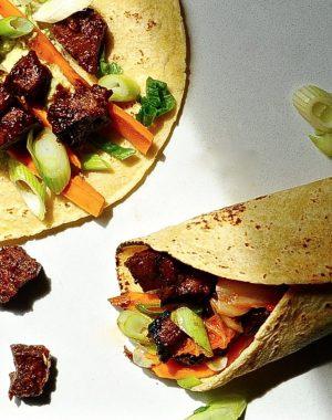 Korean Tacos (Vegan)