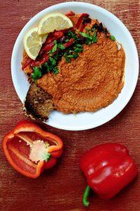 Muhammara (Syrian Red Pepper Dip)