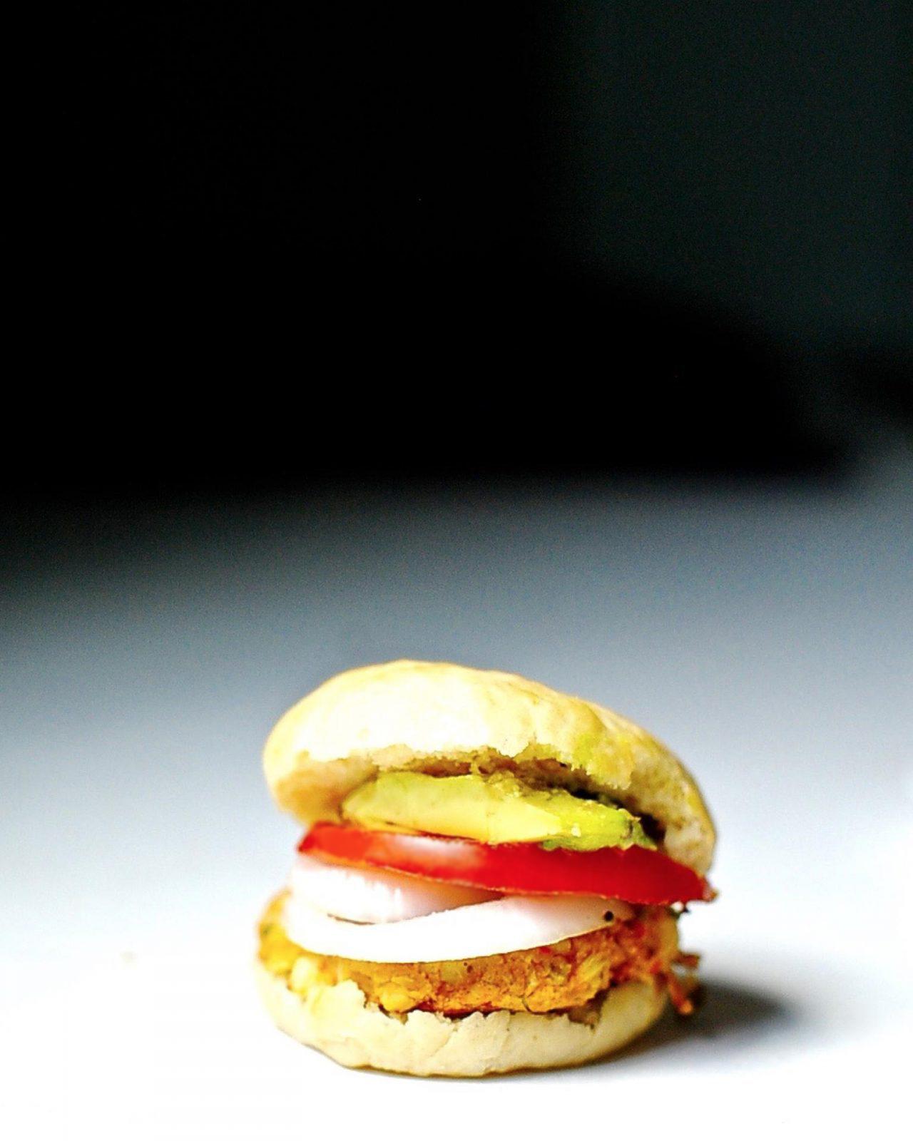 Vegan Crab-cake Sliders