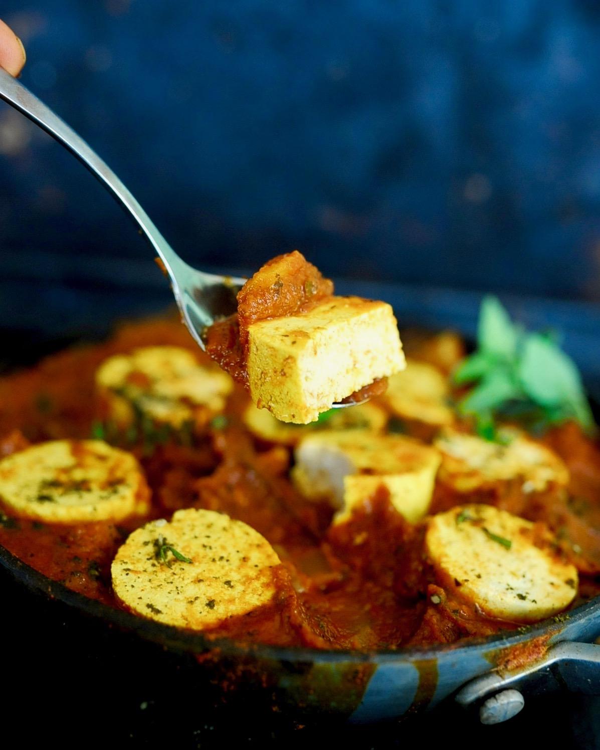 Vegan Shakshuka, One Pan, 30 minutes, Gluten Free