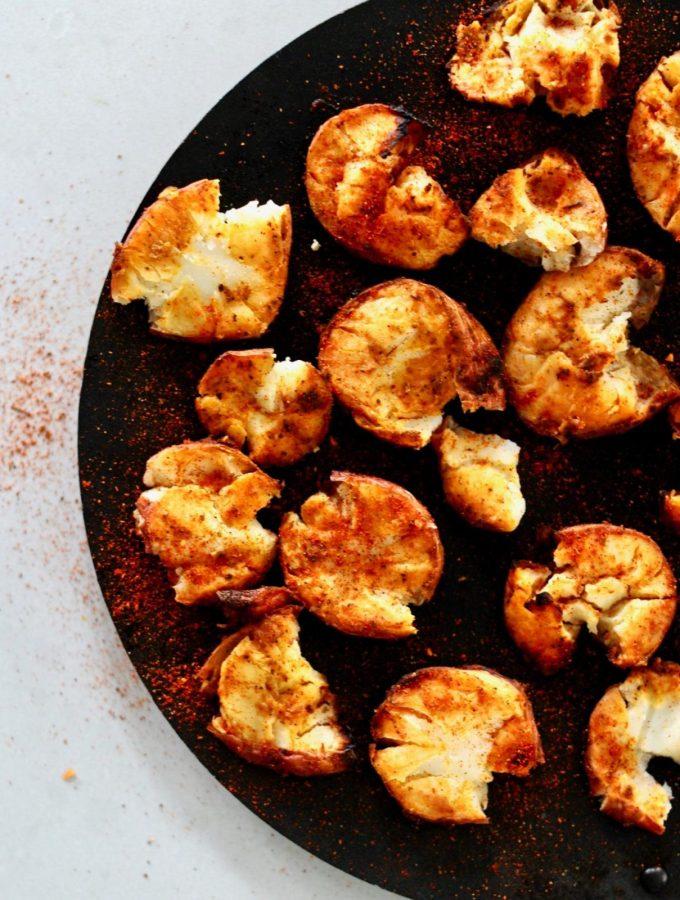 Taco Spiced Crispy Smashed potatoes 3