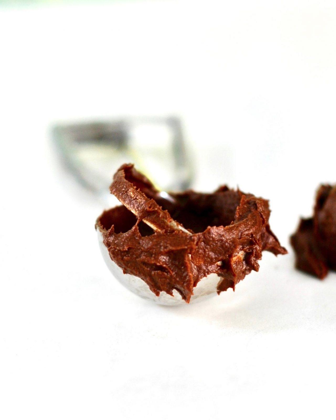 Vegan Dark Chocolate Ice Cream, Gluten Free with Aquafaba
