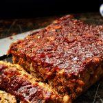 Vegan Mushroom Meatloaf with Sticky Asian Glaze (Gluten Free)1