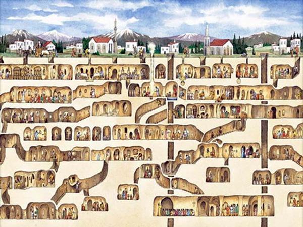 ancient underground cities