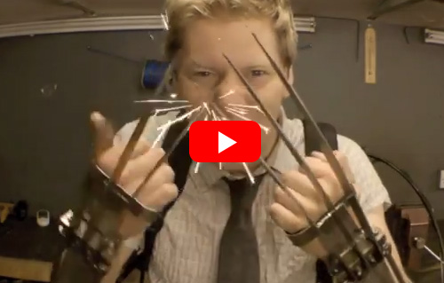 This Guy Created Real Life Wolverine Claws And They're