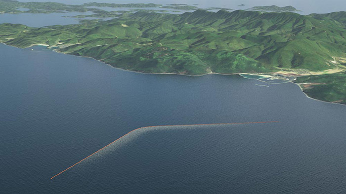 massive ocean cleanup system 2016
