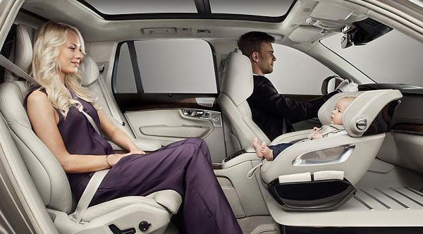 cover chair seat car covers job lot babies will ride in the front with this new designed by volvo