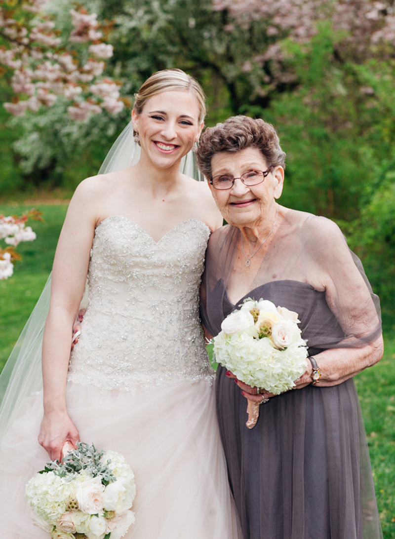 grandma bridesmaid