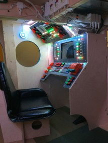 Dad Builds Son Spaceship Bed With Amazing