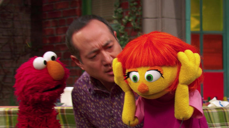 Sesame Street autism character