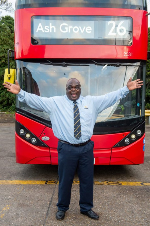 happiest bus driver
