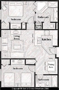 Mgm Signature Two Bedroom Suite Floor Plan | memsaheb.net