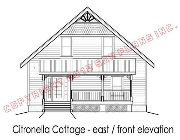 Sun Plans :: Citronella Cottage