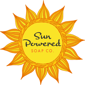 Sun Powered Soaps Logo