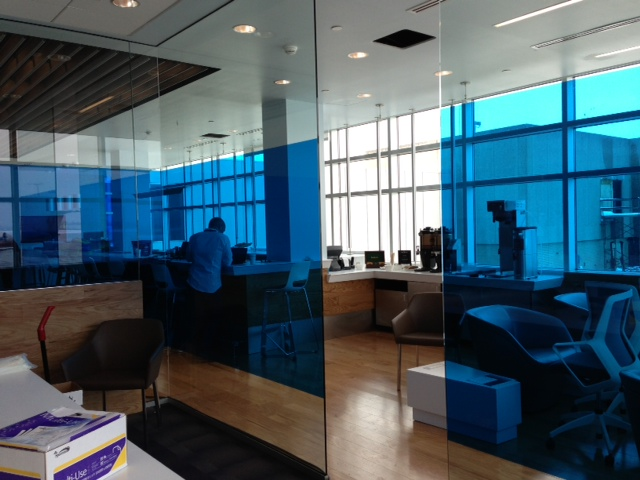 Airspace Lounge Cleveland Ohio Sunray Decorative Blue