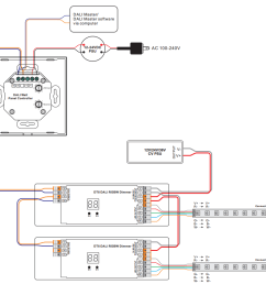 rgbw dali dt6 dt8 touch panel controller sr 2300tp rgbw wiring diagram [ 1005 x 841 Pixel ]