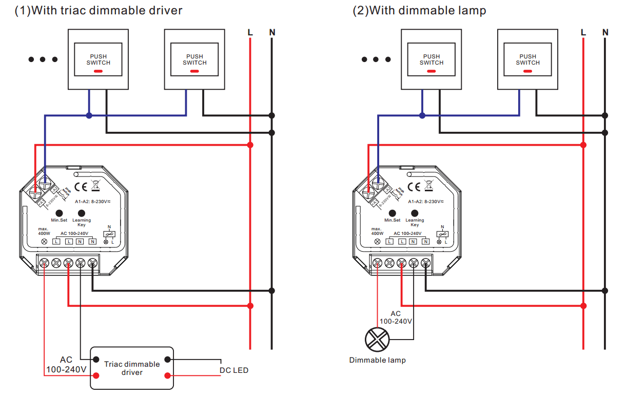 dali led driver wiring diagram the for thermostat diagrams of a triac dimmable  edmiracle co