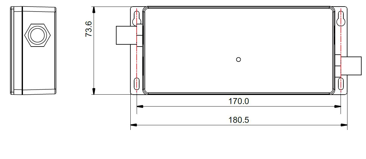 Waterproof 4 Channel 0/1-10V LED Dimmer SR-2001WP