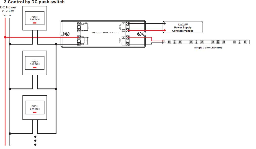 10v dimmer switch wiring