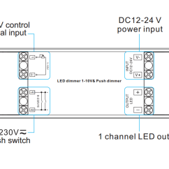 Push Dim Wiring Diagram Stihl Hedge Trimmer Attachment Parts 1 Channel Constant Voltage 0/1-10v Dimmer & Sr-2006 (push Dim)