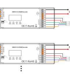 dmx decoder wiring diagram wiring diagrams bibdmx512 wiring diagram manual e book constant voltage 4 channel [ 1704 x 776 Pixel ]