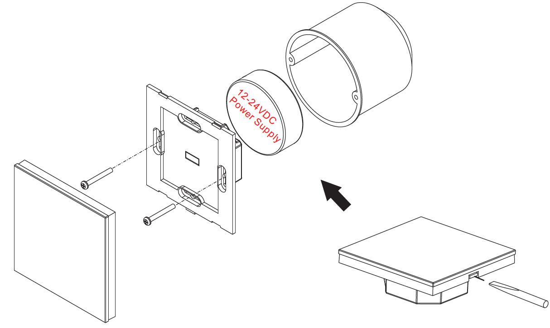 DMX512 CDW Dimmer Master SR-2201