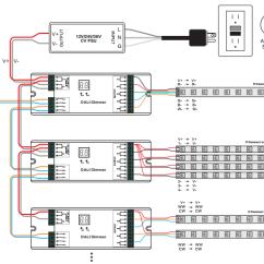 Wiring Diagram Dimmer Switch Inside Skull Constant Voltage Dali Sr-2303bea