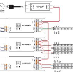 Cbus Dali Wiring Diagram For Utility Trailer Schematics Rh 47 Naehbehr De Dimmer