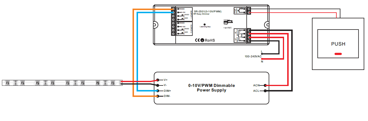 10v Dimming Wiring Diagram Rf To 0 10v Pwm Sr 2501 0 10v Pwm