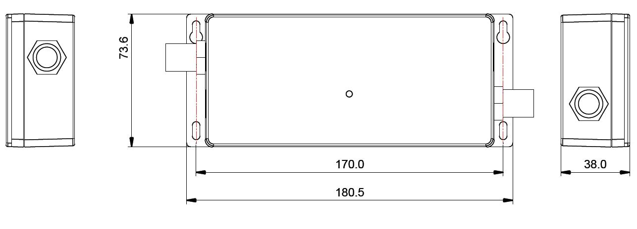Waterproof RF Dimmer SR-2501WP