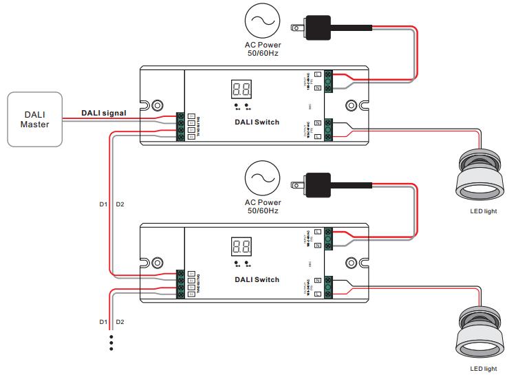 cbus dali wiring diagram software program lighting free for you ac switch sr 2701b rh sunricher com ethernet simple diagrams
