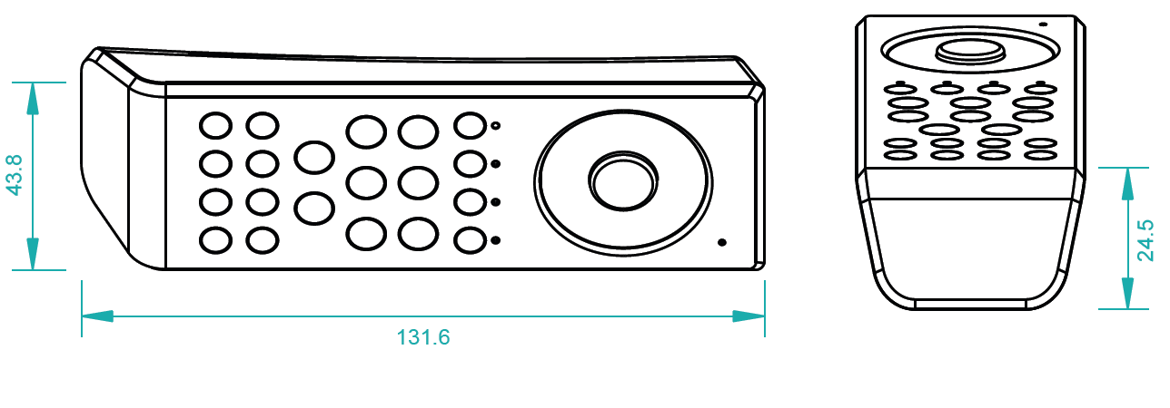RGB LED RF Zone Controller SR-2806T
