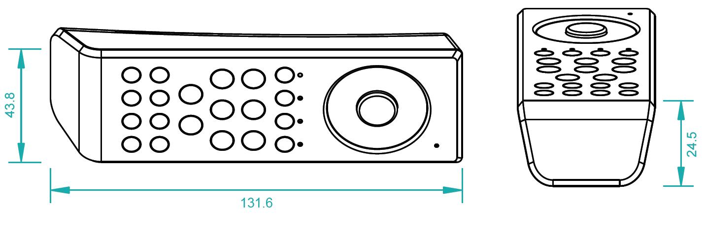 RF/WiFi LED RGBW Controller SR-2819T8