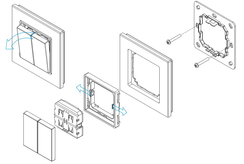 Enocean LED Controller SR-EN9102 with Remote Push Switch
