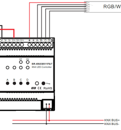sr knx9511fa7 wiring constant current rgbw knx controller sr knx9511fa7 knx lighting control wiring diagram at [ 1195 x 725 Pixel ]