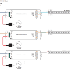 Dali Led Driver Wiring Diagram Beckett Oil 4 Channels Constant Voltage 100w Dimmable Srp-2305-12v-100-cvf