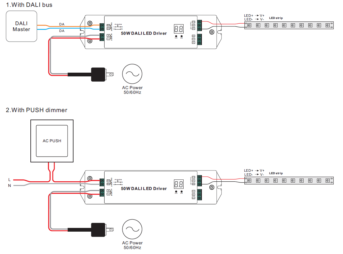 dali led driver wiring diagram one way lighting circuit for manual e books best libraryconstant voltage dimming srp 2305cv
