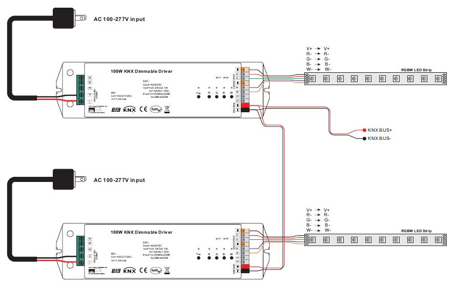 wiring diagram for series lighting