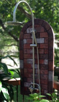 Hot Outdoor Shower Made Easy  SunRinse Outdoor Showers