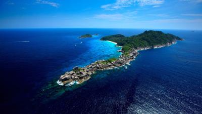 Similan Islands diving day trips from Phuket and Khao Lak